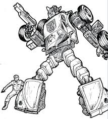 Coloring Pages Transformers Bumblebee Prime Pictures Colouring Free