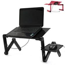 foldable office table. Portable Adjustable Foldable Laptop Notebook PC Desk Table Vented Stand Bed Tray Office