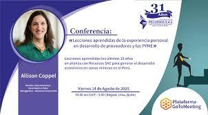 Recursos SAC - Consultora - Ciclo de conferencias internacionales ...