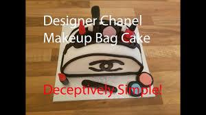 how to make a designer bag cake chanel design cake for women