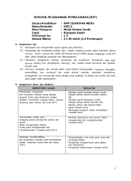 Buku paket bahasa sunda kelas 11 semester 1 dan 2 kurikulum 2013. 8 Rpp Mapel B Sunda Kurikulum 2013 Kawih