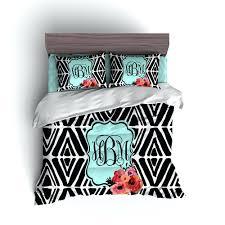 crafty inspiration monogram comforter sets monogrammed chevron set baby bedding drexelgsa org comfter personalized comforters