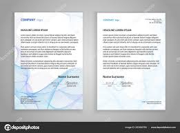 Letterheads Layouts Letterhead Template Printable Business Letter Layout Modern Examples