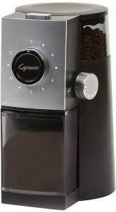 Alibaba.com offers 630 capresso burr grinder products. Amazon Com Capresso Grind Select Coffee Grinder 10 Ounce Black Kitchen Dining