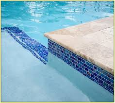 pool waterline tile ideas glass tiles swimming home design