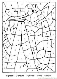 Free Color By Number Coloring Pages Printable Color By Number Pages