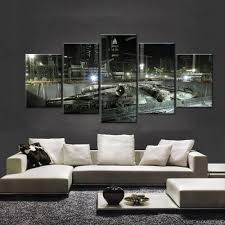 Wall Decoration Living Room Living Room 7pcs Set 3d Mirror Square Acrylic Wall Stickers Home