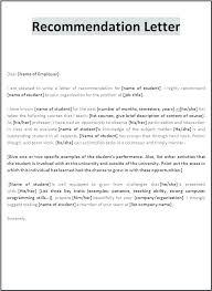Letter Of Recommendation Supervisor Recommendation Letter For Employment Regularization Sample