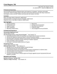 Perioperative Assistant Sample Resume