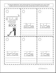 These phonics activity cards are free for subscribers to download. Word Family Ide Words Worksheet I Abcteach Com Abcteach