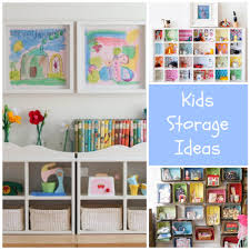 Small Kids Bedroom Storage Storage And Organization Ideas For Kids Rooms Design Dazzle