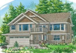 Basement Entry   Linwood Custom HomesHouse Plans   The Chandler