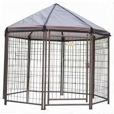 advantek pet gazebo outdoor kennel gazebo ideas