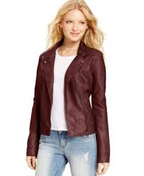 American Rag Faux-Leather Quilted Moto Jacket - Jackets & Vests ... & American Rag Faux-Leather Quilted Moto Jacket Adamdwight.com
