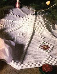 Christmas Tree Skirt Crochet Pattern New 48 Charming DIY Christmas Tree Skirts Crochet Pinterest Tree