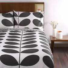 orla kiely granite flannel giant stem double duvet cover prev next zoom
