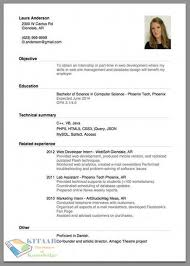 proper resume. How to Make A Proper Resume Layout How to Write Good Cv Resume for