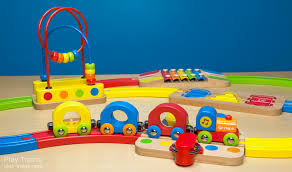 hape al wooden railway wooden train set the play trains guide to wooden
