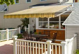 home deck retractable awning
