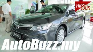 2015 Toyota Camry 2.5 Hybrid and 2.0G First Look - AutoBuzz.my ...