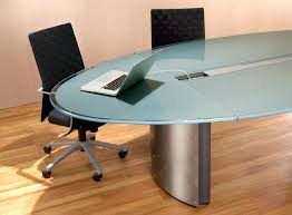 oval glass table oval glass conference table modern glass boardroom tables and contemporary conference room furniture
