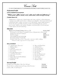 Resume Profile Examples