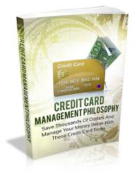 credit card management philosophy ebook
