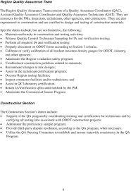 quality assurance technicians quality assurance program pdf