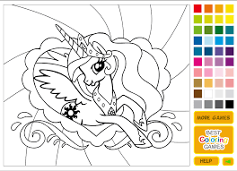 My Little Pony Coloring Pages Online For Kids Printable Coloring ...