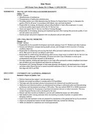 Cozy Inspiration Lpn Resume Template 8 Lvn Sample No Experience