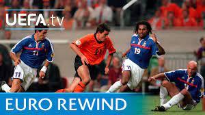 EURO 2000 highlights: France 2-3 Netherlands - YouTube