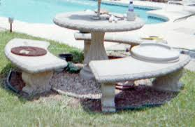 glass or ceramic tile for mosaic patio table how to mosaic concrete castings concrete benches bird round