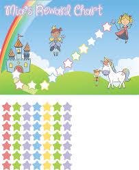 Reward Chart Personalised Reward Chart Fairy Theme