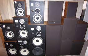 vintage jbl speakers. jbl l series collection. vintage jbl speakers