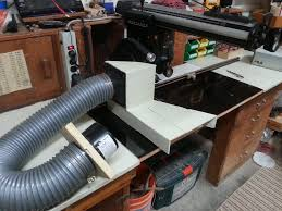 radial arm saw dust collection solution by timbertailor diy table saw sawdust collector