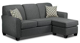 Living Room Sectionals With Chaise Ashby Chaise Sofa Grey Leons