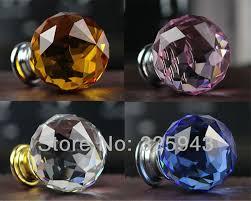 40mm great round k9 crystal knobs handles dresser drawer pulls door kids furniture bedroom