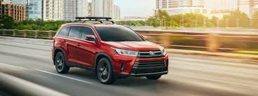 2019 Toyota Color Chart What Colors Does The 2019 Toyota Highlander Come In