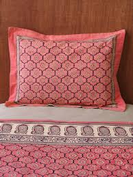 decorative pillow shams. Modren Decorative Pink Sham Standard India Pillow Rose Pillow Cover Floral Sham Decorative  Cover  Saffron Marigold In Shams