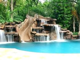 pool waterfall lighting. Pool Waterfall Lights Designs Swimming Captivating Lighting Ideas