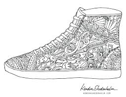 shoes coloring pages enjoyable shoe coloring page birds doodles shoes and free pages jordan shoes