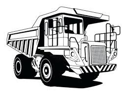 Construction Truck Coloring Pages Mining Dump Truck Coloring Pages