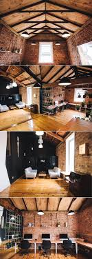 rustic and warm office decor base group creative office