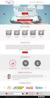 Sysco Menu Design Elegant Playful Marketing Landing Page Design For A
