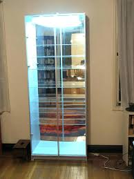 ikea display cabinet glass display case c display case lighted w tutorial topic home design