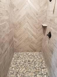 sliced pebble tile pebble stone shower sliced pebble tile flooring