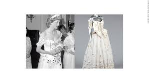 princess diana's fairytale dress could be yours cnn Wedding Dress Designers Kerry one of princess diana's most fantasy like dresses will be auctioned french wedding dress designer kerry
