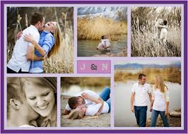 Collage Wedding Invitations The Modern Photo Collage Wedding Invitation Junior Kenya