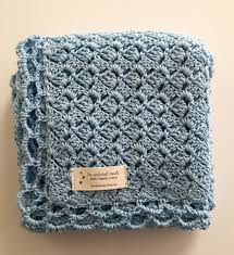 Crochet Baby Blanket Pattern Gorgeous Crochet Pattern Baby Blue Baby Blanket
