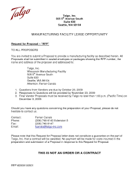 Response To Rfp Sample Rfp Award Letter Template Collection Of Contract New